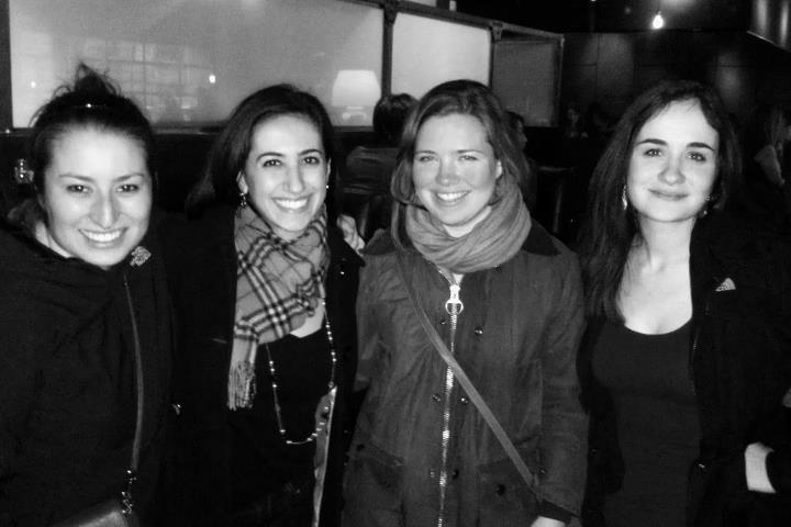 Jess, Lamis, Me & Elena