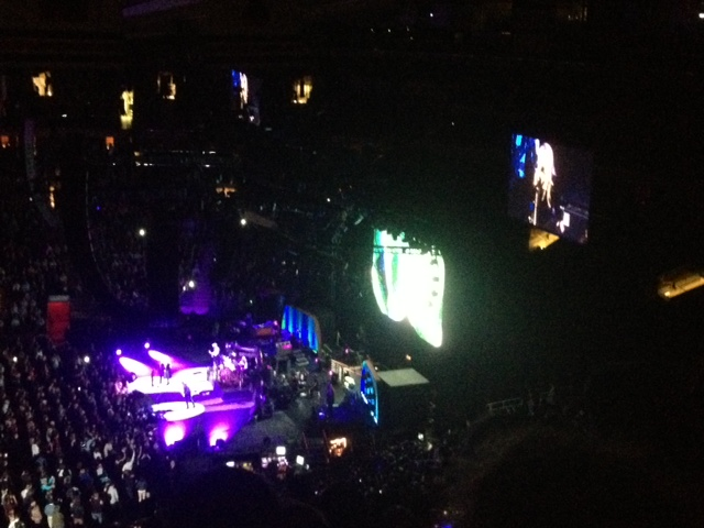 Fleetwood Mac at MSG from the Nosebleeds