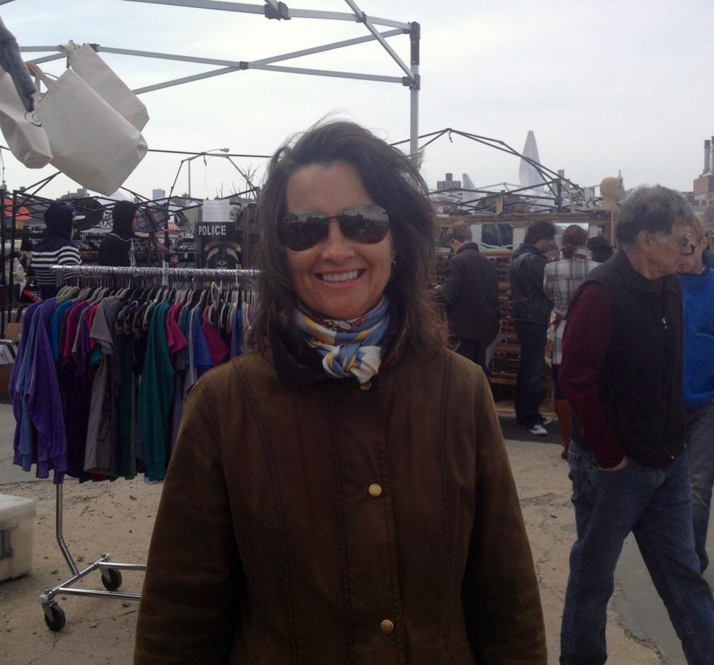 Mom at the Brooklyn Flea