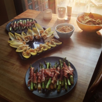 book club spread @ gerilyn's