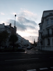 afternoon in notting hill